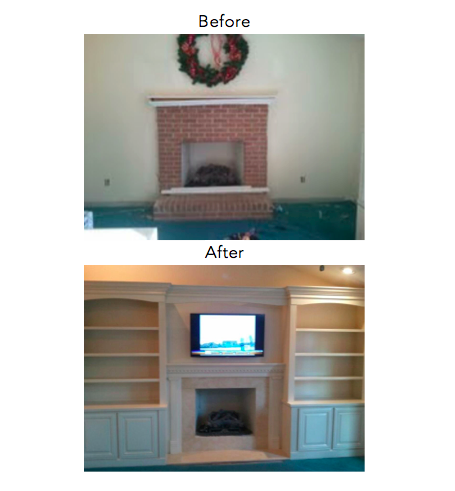 Herndon Gas Fireplace